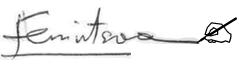 fenintsoa signature